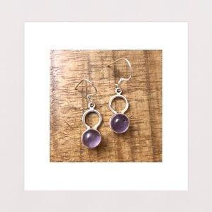 Jewelry - NEW | Amethyst & Sterling Silver Drop Earrings